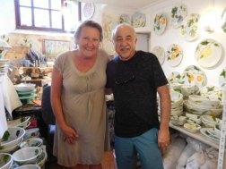 Ceramic artist: Joanna, Deia, Mallorca