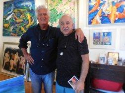 Painter: Alan Hydes, Deia, Mallorca