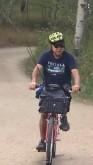 Mark on bike